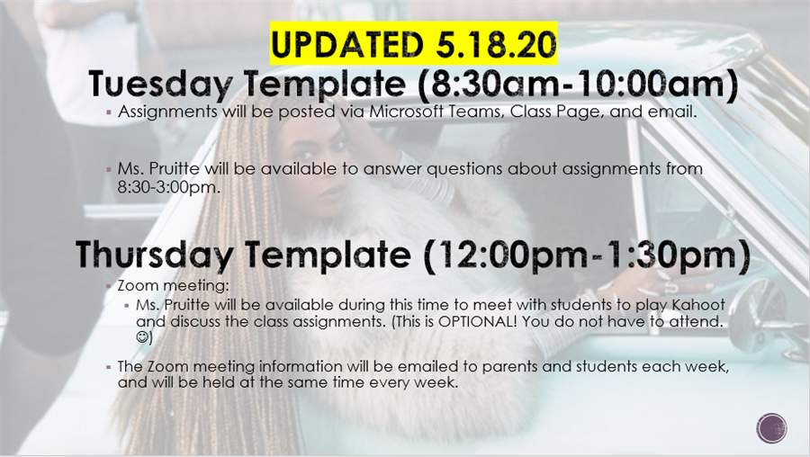 Virtual Class Template- Updated May 18